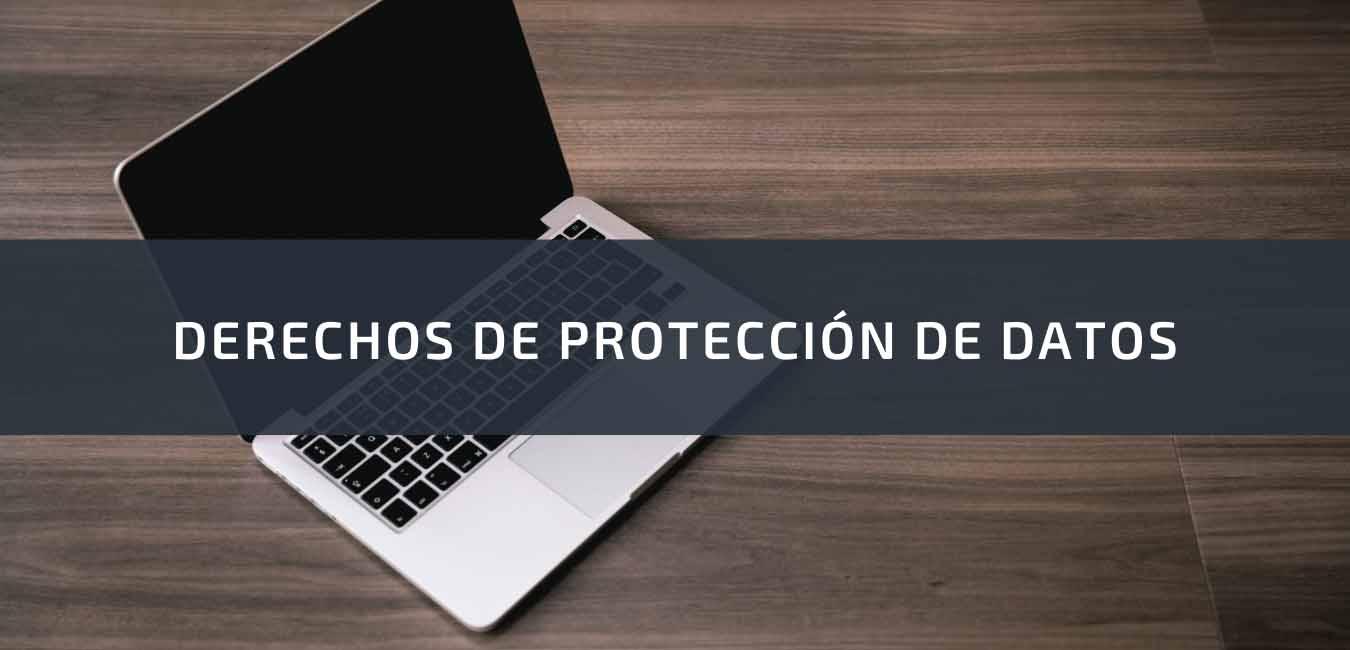 Derechos protección de datos