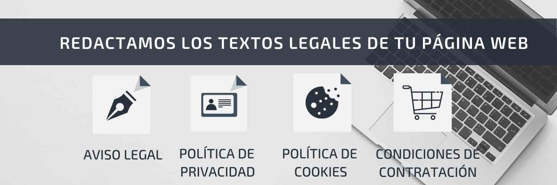 Textos legales página web