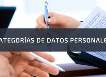 categorias de datos personales