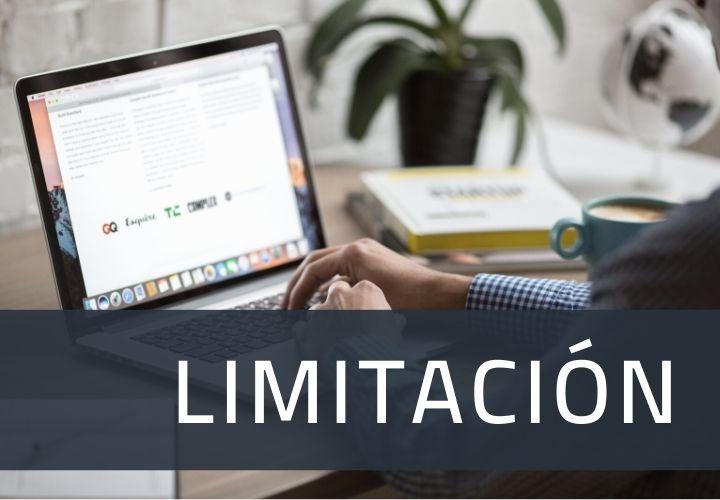 Derecho de limitación de datos personales
