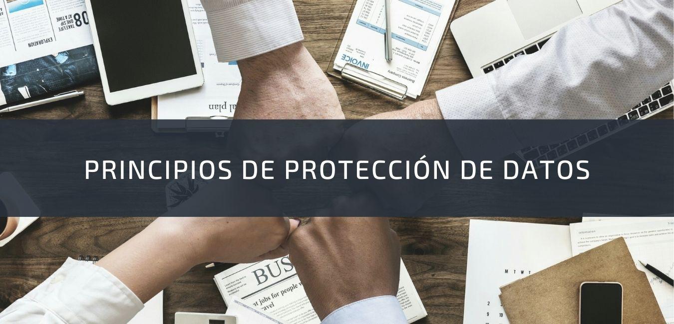Principios de protección de datos