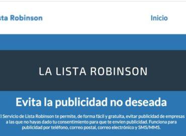 La Lista Robinson